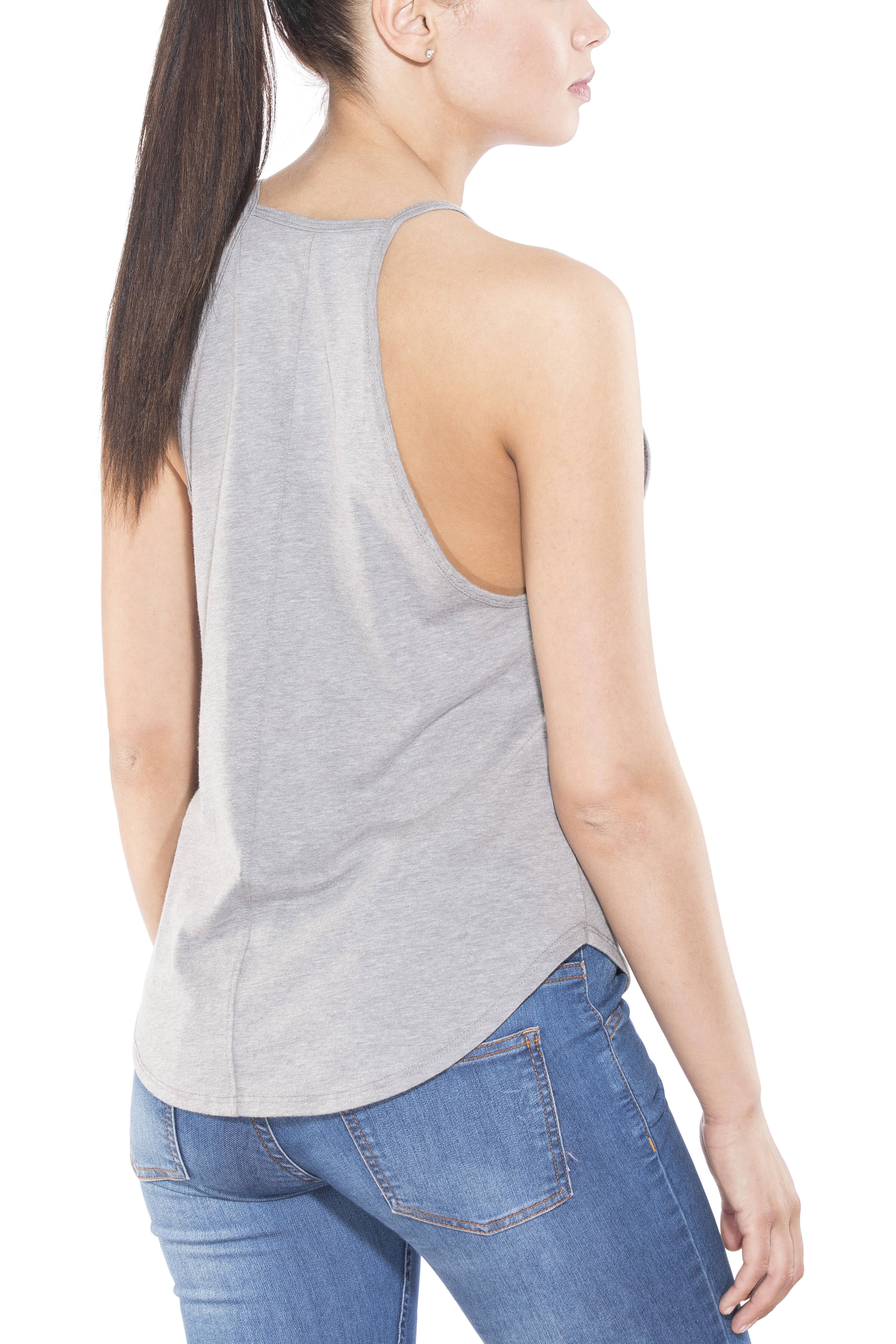 bd6061df6ed3b Prana Graphic You Tank Women Nature Up Heather Grey at Addnature.co.uk